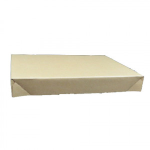 Couvercle caisse carton palettisable C12-C13-C14 400 x 300 x 50mm