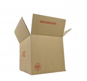 Caisse carton palettisable A simple cannelure 300 x 200 x 125mm
