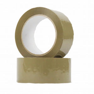 Ruban adhésif PVC solvant 32µ Havane 48mm x 100ml