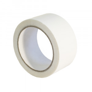 Ruban adhésif PP Hot Melt 25µ Blanc 48mm x 100ml