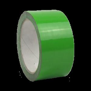 Ruban marquage au sol PVC Solvant 180µ Vert 50mm x 33ml
