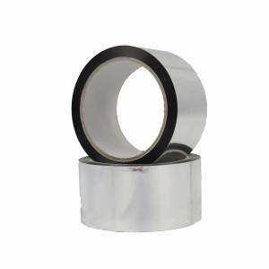 Ruban adhésif PP acrylique 50µ aluminium métallisé 50mm x 50ml