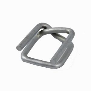 Boucle acier galvanisé pour feuillard textile 40mm