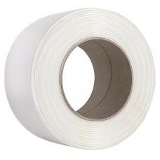 Feuillard textile fil à fil blanc 16 mm
