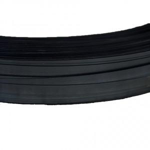 Feuillard acier 32mm noir laqué