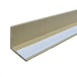Corniere carton kraft adhésive 1 aile 4mm 35 x 35 x 1200 mm