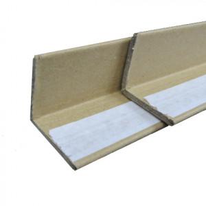 Corniere carton kraft adhésive 1 aile 3mm 35 x 35 x 1200mm