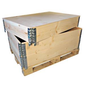 Réhausses de palettes pliantes et rabattables NIMP15 800 x 1200 x 200mm