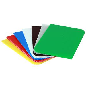Plaque alvéolaire translucide UV PIECE 250g/m² ép 2mm 1222 x 610mm