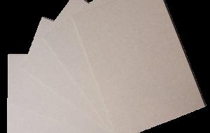 Plaque carton compact 650 g/m² gris 650 x 900mm