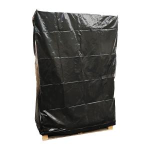 Housse non rétractable PEBD 110µ Noir 1340+2 x 570 x 2370mm anti UV 12m
