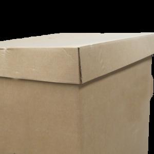 Coiffe palette carton 1200 x 800 x 1400mm