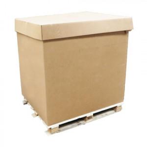 Coiffe palette carton 1200 x 1000 x 1400mm