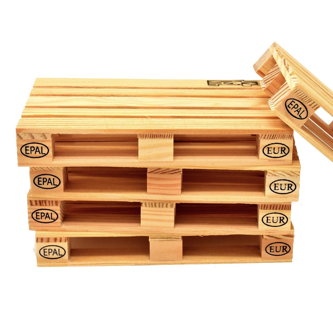Palette bois occasion légère