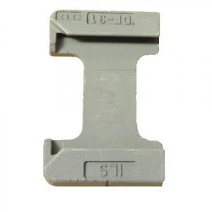 Platine/socle pour twistlock Longitudinal 45° - DF-31