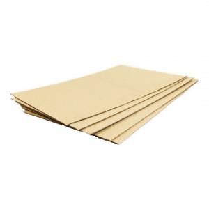 Plaque de carton ondulé simple cannelure 2,8mm 1000 x 1200mm
