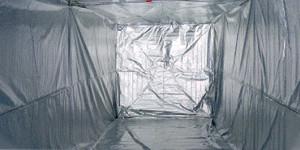 Logituff 40' isolation avec plancher  6 faces
