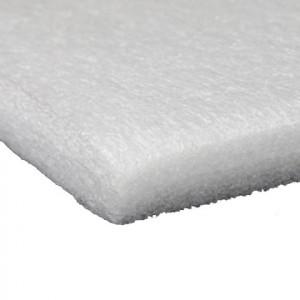 Plaque mousse PE blanc 20mm 24kg/m³ 1000 x 1000mm