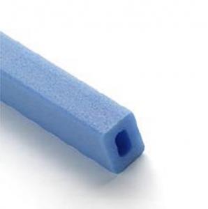 Profilé PE bleu creux barre de 2m 43 x 30 x 10mm 30kg 3