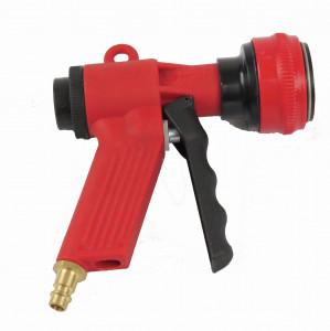 Pistolet rouge mini jet flow rouge avec embout à clipser