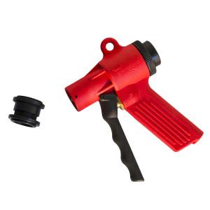 Pistolet rouge mini jet flow avec embout à clipser