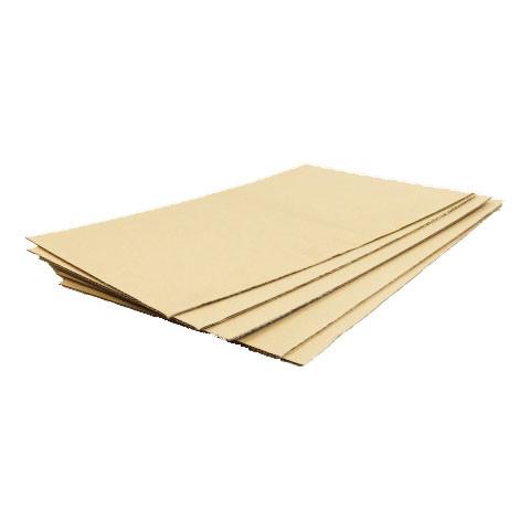 Plaque de carton ondulé simple cannelure