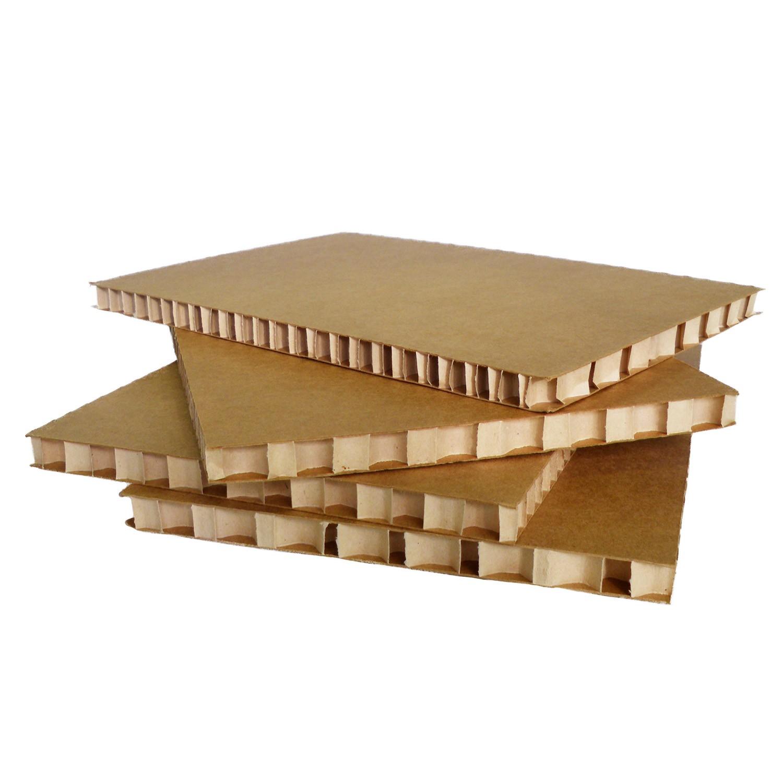 Plaque de carton nid d'abeille