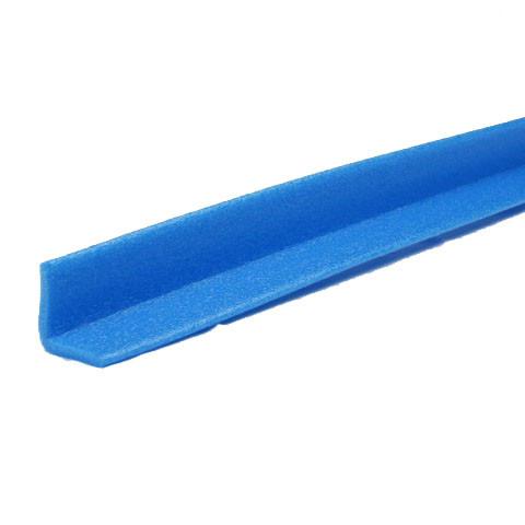 Profilé mousse PE Bleu