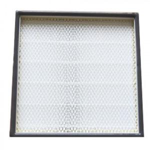 Filtre HEPA H14 cadre alu 305 x 305 x 68mm