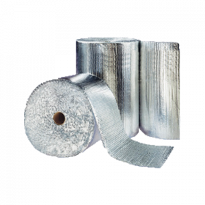 Logitherm aluminium double bulle 10mm 100µ 0,35mmx41ml