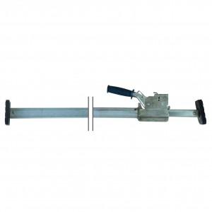 Barre aluminium téléscopique ajustable 2275 à 2665 mm