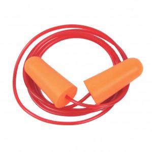 Bouchons d'oreille avec cordon PU Orange