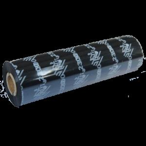 Ruban transfert thermique couleur noir en cire 110x74m