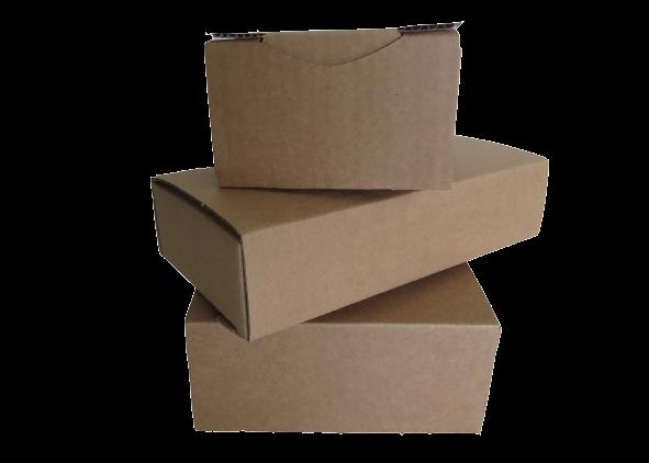 Boîte postale brune
