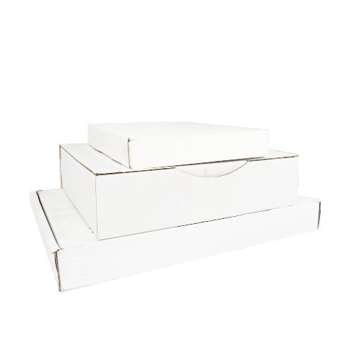 Boîte postale blanche
