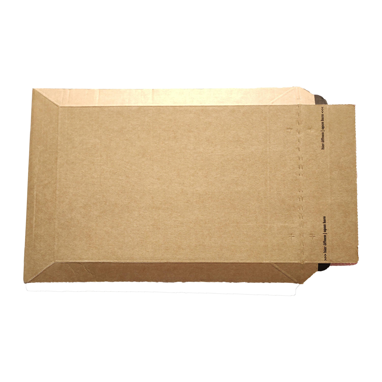 Pochette carton fermeture adhésive