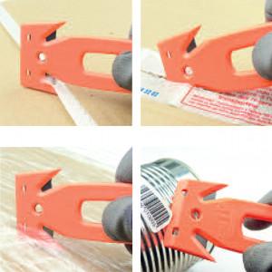 Cutter EYRAC jetable ergot non coupant à l'arrière 158 x 54 x 8mm