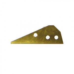 Lame 3 trous pour couteau de sécurité 15 x 44mm